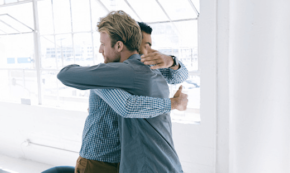 Hugging Another Man Won't Harm Your Masculinity