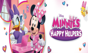 minnie's happy helpers, mickey and the roadster racers, cartoon, dvd, review, disney junior