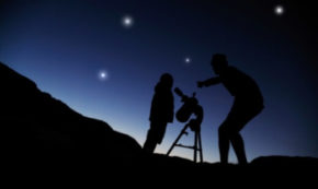 Stargazing in the Outdoors