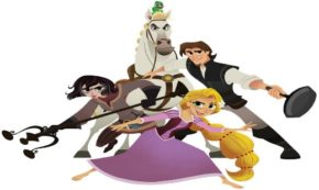The Cast and Crew of 'Tangled The Series' Swung into D23