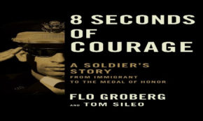 8 seconds of courage, novel, flo groberg, autobiography, military, review, simon and schuster