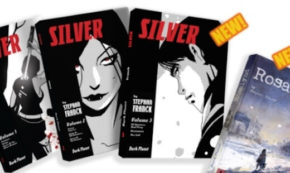 Stephan Franck's SILVER Returns to Kickstarter for Dracula's Lost Treasure!!