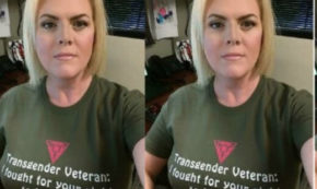 This Trans Veteran Fought for Your Right to Hate Them