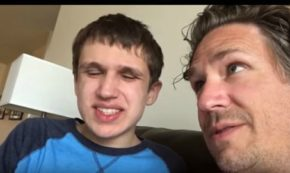 A Tender Conversation Between A Father And His Autistic Son
