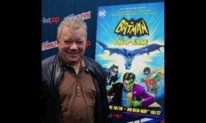 #NYCC2017 Highlight William Shatner Roundtable for Batman VS. Two-Face!