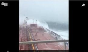 This Is What It Feels Like To Be On A Ship In The Middle Of A Huge Storm
