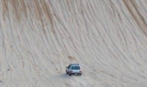 Off-Road Drivers Watch In Disbelief As Basic Subaru Rips Up Crazy Slope