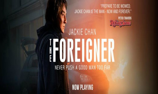 the foreigner, action, thriller, jackie chan, pierce brosnan, review, stx films