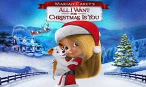 all i want for christmas is you, mariah carey, animated, musical, holiday, review, universal pictures