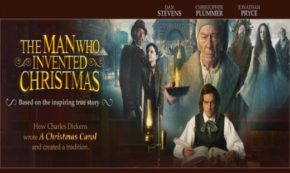 the man who invented christmas, drama, true story, a christmas carol, dan stevens, review, bleecker street