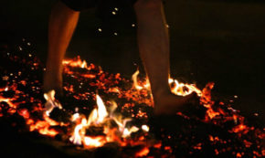Fire Walking: Taking  a Quantum Leap of Faith