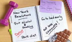 Working on Keeping New Year's Resolutions