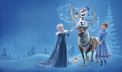 olaf frozen adventure, holiday, special, christmas, frozen, top ten, abc
