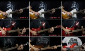 This Guitar Orchestra Of 'The Imperial March' From 'Star Wars' Is Fricking Impressive