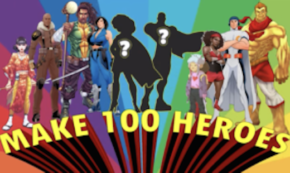 We Can be Heroes: Planet Random Creative Celebrates Black History Month With 100 Heroes!