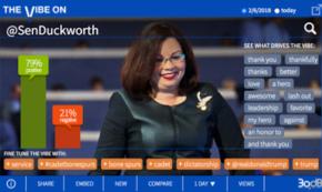 Standing Ovation as Sen. Duckworth Takes Down Trump