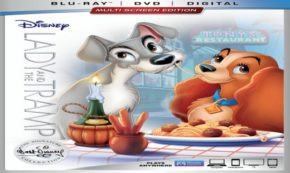 The Treasured Classic Film 'Lady and the Tramp' is Coming to Blu-Ray