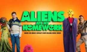 aliens ate my homework, adpatation, comedy, family, dvd, review, universal pictures