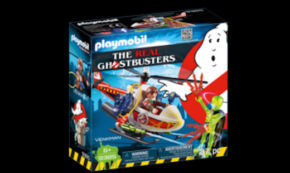 TOY REVIEW: Playmobil #9385 The Real Ghostbusters Venkman with Helicopter!