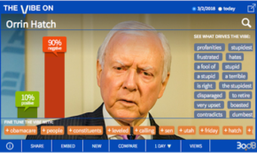 Online Crowd Can't Wait for Orrin Hatch to Leave