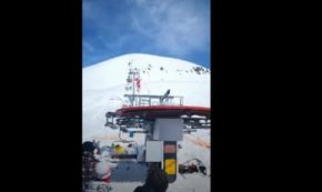Runaway Ski Lift Goes Haywire, Flings People Out