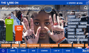 Standing With Latest School Walkout for Gun Safety
