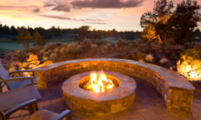 How to Put in the Perfect Backyard Patio and Fire Pit This Summer