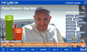 Social Says Hallelujah After Pope's Remarks to Gay Man