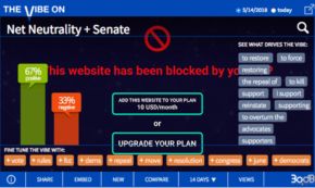 Thanks for 11th-Hour Bid to Save Net Neutrality!