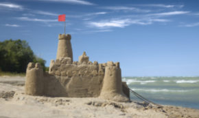 Sandcastles (100 Words on Love)
