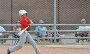 Homerun at the Father-Son All-Star Game