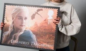 Game of Thrones® Fans Can Bid to Win One of Six Stamp Enlargements Signed by Cast Members From the Hit HBO® Series!