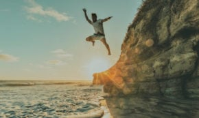 Leap Into The Present Moment… That's Where You Will Experience True Adventure!
