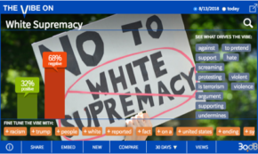 Surprisingly Positive Numbers for 'White Supremacy'
