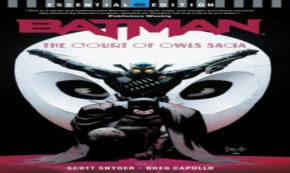 court of owls, batman, essential edition, comic, graphic novel, net galley, review, dc comics, dc entertainment
