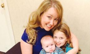 Sarah Martin and family