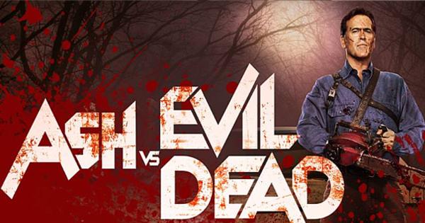 own the entire series when ash vs evil dead slashes to blu ray