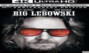 the big lebowski, crime, comedy, jeff bridges, john goodman, 4k ultra hd, 20th anniversary, box set, gramercy pictures