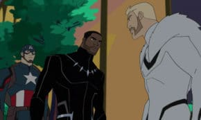 the good son, black panther's quest, marvel avengers, cartoon, season 5, review, disney xd