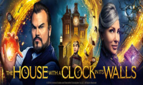 house with a clock in its walls, fantasy, adaptation, eli roth, jack black, Cate Blanchett, clip, universal pictures