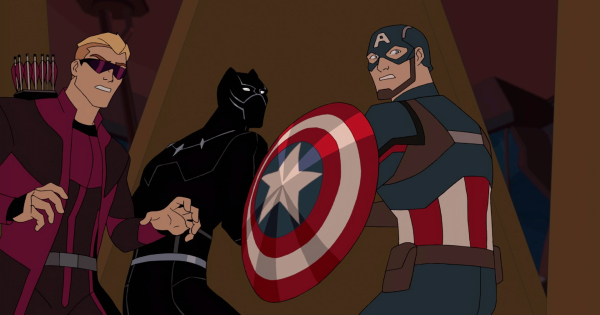 mask of the panther, black panther's quest, marvel avengers, cartoon, season 5, review, disney xd