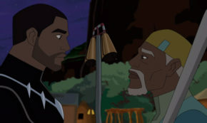 the night has wings, black panther's quest, marvel avengers, cartoon, season 5, review, disney xd