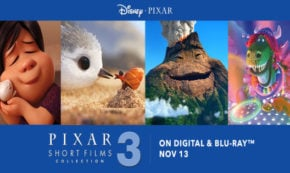 pixar short films collection vol 3, computer animated, blu-ray, dvd, review, pixar, walt disney pictures