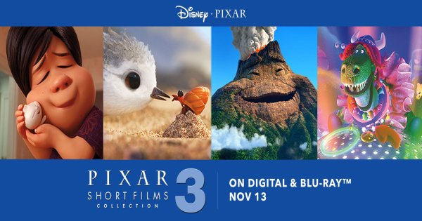 The Pixar Short Films Collection Vol 3 Is Zooming To Blu Ray The