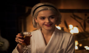 a midwinters tale, chilling adventures of sabrina, tv show, horror, supernatural, kiernan shipka, review, netflix