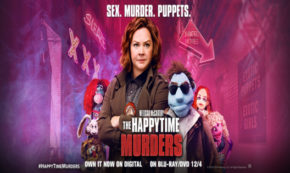 the happytime murders, comedy, crime, elizabeth banks, melissa mccarthy. blu-ray, review, stx films, universal pictures