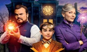 house with a clock in its walls, family, fantasy, jack black, cate blanchett, alternate ending, clip, universal pictures