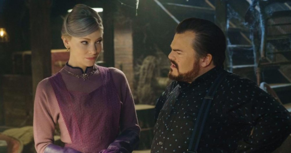 house with a clock in its walls, fantasy, family, adaptation, jack black, cate blanchett, blu-ray, review, universal pictures