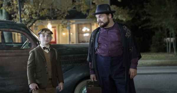 house with a clock in its walls, family, fantasy, adaptation, jack black, cate blanchett, blu-ray, review, universal pictures