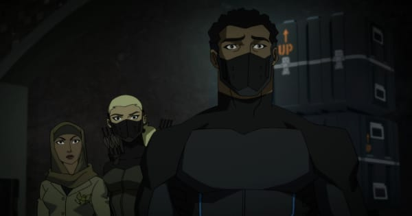 eminent threat, outsiders, young justice, tv show, animated, action, adventure, season 3, review, dc universe, warner bros television